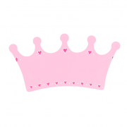 PinkCrown_PlainPlaque