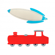 Train_Rocket_Plaques