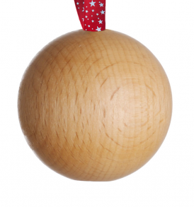WoodenBaublePLAIN