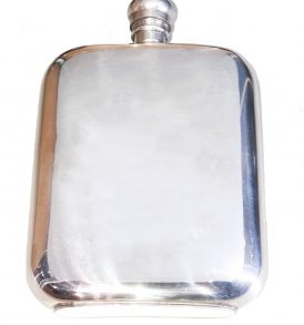 Back of Hipflask