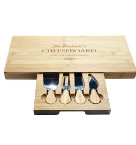 Oblong Cheese Board Set