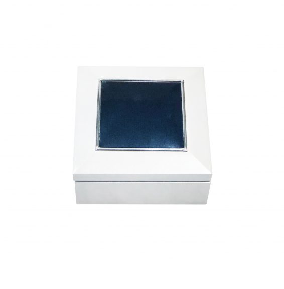 Small White Jewellery Box