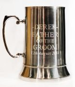 Stainless.Steel Tankard