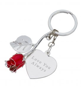 Red Keyring